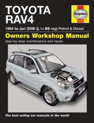 Toyota RAV4 Petrol & Diesel (94 - Jan 06) L to 55: 94-06