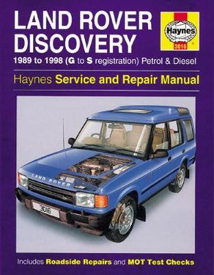 Land Rover Discovery 1989-1998 Repair Manual
