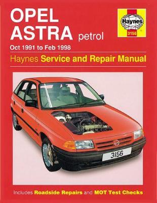 Opel Astra Petrol 1991-1998 Repair Manual