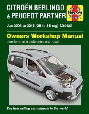 Citroen Berlingo & Peugeot Partner Diesel 2008-2016 Repair Manual
