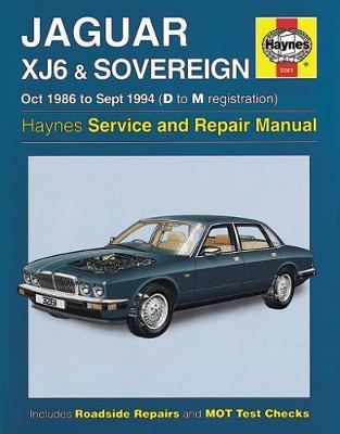 Jaguar XJ6 & Sovereign 1986-1994 Repair Manual