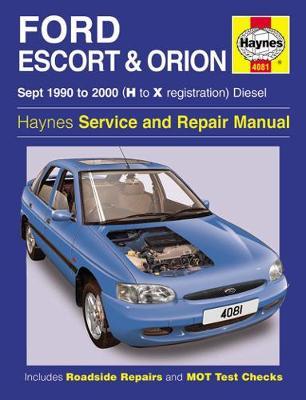 Ford Escort & Orion Diesel 1990-2000 Repair Manual