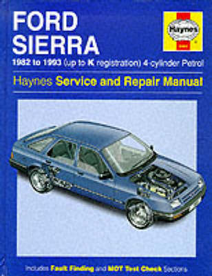 Ford Sierra 4-Cylinder Service and Repair Manual
