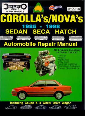 Toyota: Corolla/Nova: 1985-1993 Sedan/Seca/Hatch