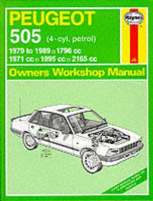 Peugeot 505 (Petrol) 1979-89 Owner's Workshop Manual