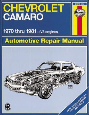 Chevrolet Camaro Z28 1970-1981 Repair Manual