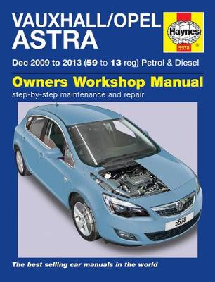Vauxhall/Opel Astra (Dec 09 - 13) 59 To 13