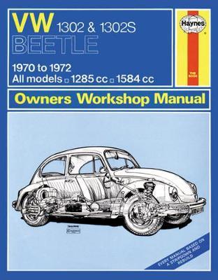 VW Beetle 1302 & 1302S 1970-1972 Repair Manual