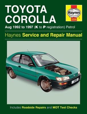 Toyota Corolla Petrol 1992-1997 Repair Manual
