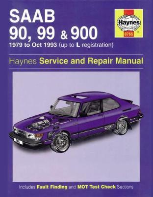 Saab 90 99 900 1979-1993 Repair Manual