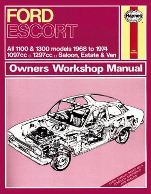 Ford Escort Mk I 1100 & 1300 1968-1974 Repair Manual