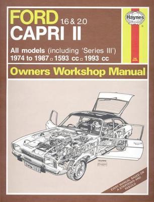 Ford Capri MKII & III 1974-1987 Repair Manual