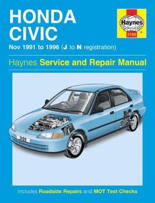 Honda Civic 1991-1996 Repair Manual