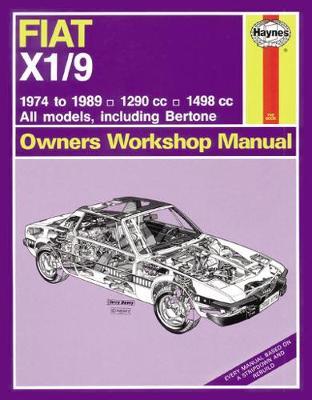 Fiat X1/9 1974-1989 Repair Manual