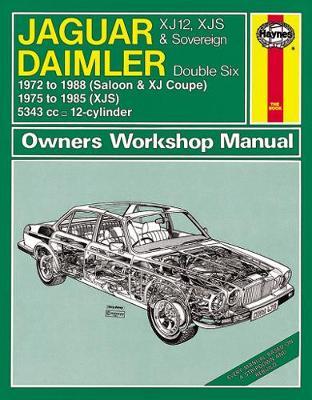 Jaguar XJ12 Series 1, 2 and 3 1972-1988 Repair Manual