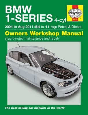 BMW 1 Series 4-cyl E81, E87 2004-2011 Repair Manual