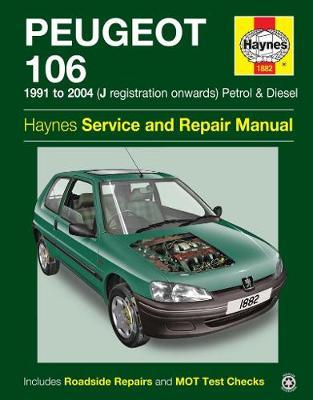Peugeot 106 1991-2004 Repair Manual
