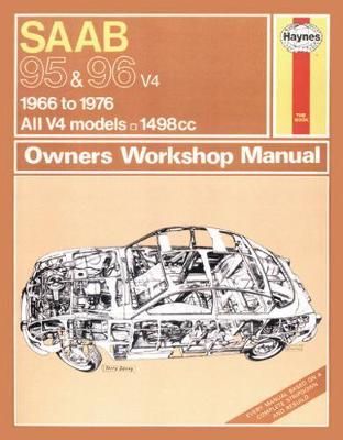 Saab 95 & 96 V4 1966-1976 Repair Manual