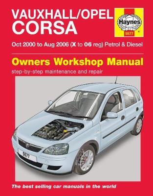 Barina XC, Combo, Vauxhall Opel Corsa P&D 2000-2006 Repair Manual