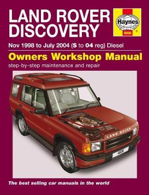 Land Rover Discovery Diesel 1998-2004 Repair Manual