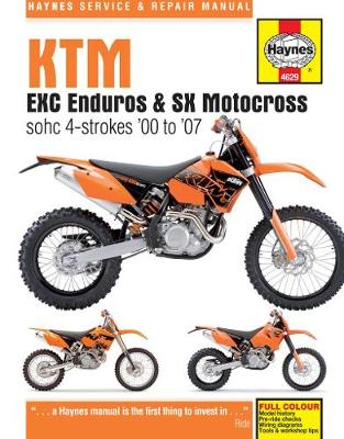 KTM EXC/MXC Enduros & SX Motocross 2000-2007 Repair Manual
