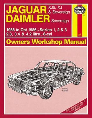 Jaguar XJ6 Series 1, 2 & 3 1968-1986 Repair Manual