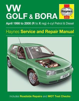 VW Golf & Bora April 1998-2000 Repair Manual
