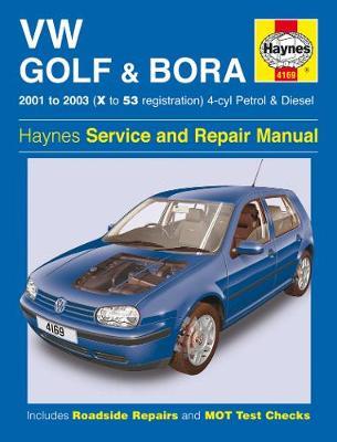 VW Golf & Bora 4-cyl 2001-2003 Repair Manual