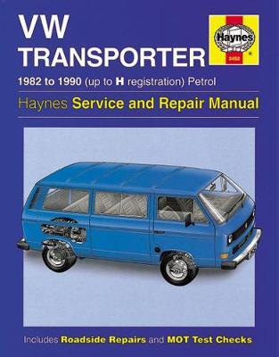 VW Transporter water-cooled Petrol 1982-1990 Repair Manual
