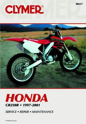 Honda CR250R 1997-2001 Repair Manual