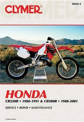 Honda CR250R 1988-1991 & CR500R 1988-2001 Repair Manual