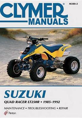 Suzuki Quad Racer LT250R ATV 1985-1992 Repair Manual