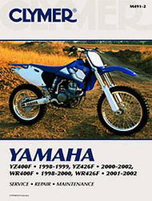 Yamaha YZ400F/YZ426F/WR400F/WR426F 1998-2002 Repair Manual