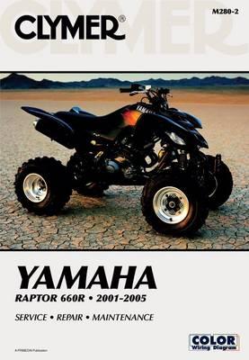 Yamaha YFM660R Raptor 660R ATV 2001-2005 Repair Manual