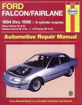 Ford Falcon EF, EL/Fairlane NF, NL/LTD DF, DL 1994-1998 Repair Manual