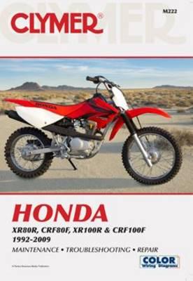 Honda XR & CRF 1992-2009 Repair Manual