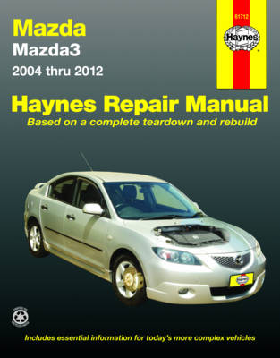 Mazda Mazda3 BK, BL 2004-2013 Repair Manual