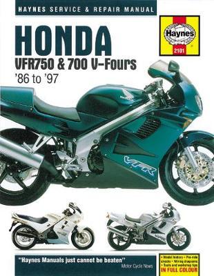 Honda VFR750 & 700 V-Fours (86-97): 86-97