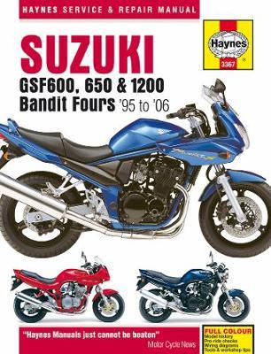 Suzuki GSF600, 650 & 1200 Bandit Fours (95-06): 95-06