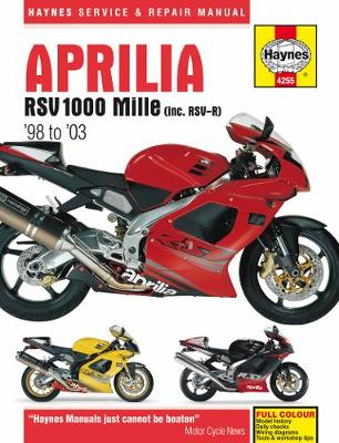 Aprilia RSV 1000 Mille (98 -03): 98-03