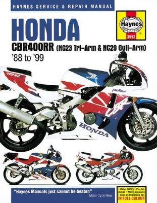 Honda CBR400RR Fours 1988-1999 Repair Manual