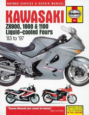 Kawasaki liquid cooled ZX900/1000/1100 1983-1997 Repair Manual