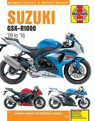 Suzuki GSX-R1000 2009-2016 Repair Manual