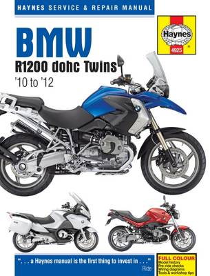 BMW R1200 DOHC Twins 2010-2012 Repair Manual