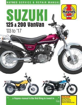 Suzuki RV125/200 VanVan 2003-2017 Repair Manual