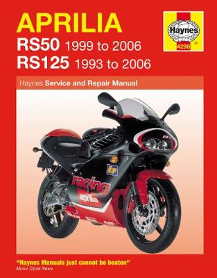Aprilia RS50 99-06 & RS125 1993-2006 Repair Manual