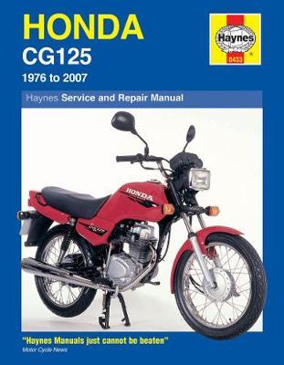 Honda CG125 1976-2007 Repair Manual