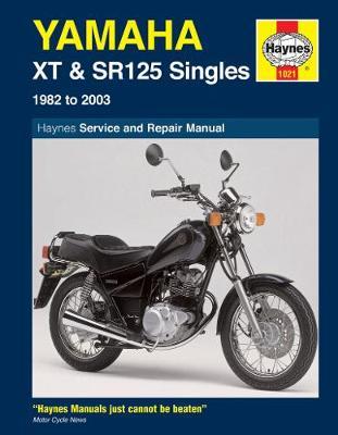 Yamaha XT & SR125 1982-2003 Repair Manual