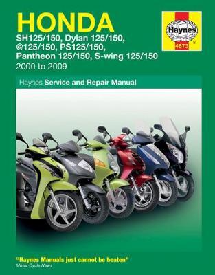Honda 125 Scooters SH/SES/NES/PES/FES 125 2000-2009 Repair Manual