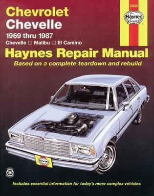 Chevrolet Chevelle, Malibu & El Camino (69 - 87)